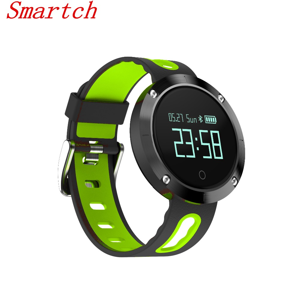 Smartch DM58 Bluetooth Smart Band Wristband with Heart Rate Blood Pressure Monitor Fitness Tracker Sports Wrist Smartband