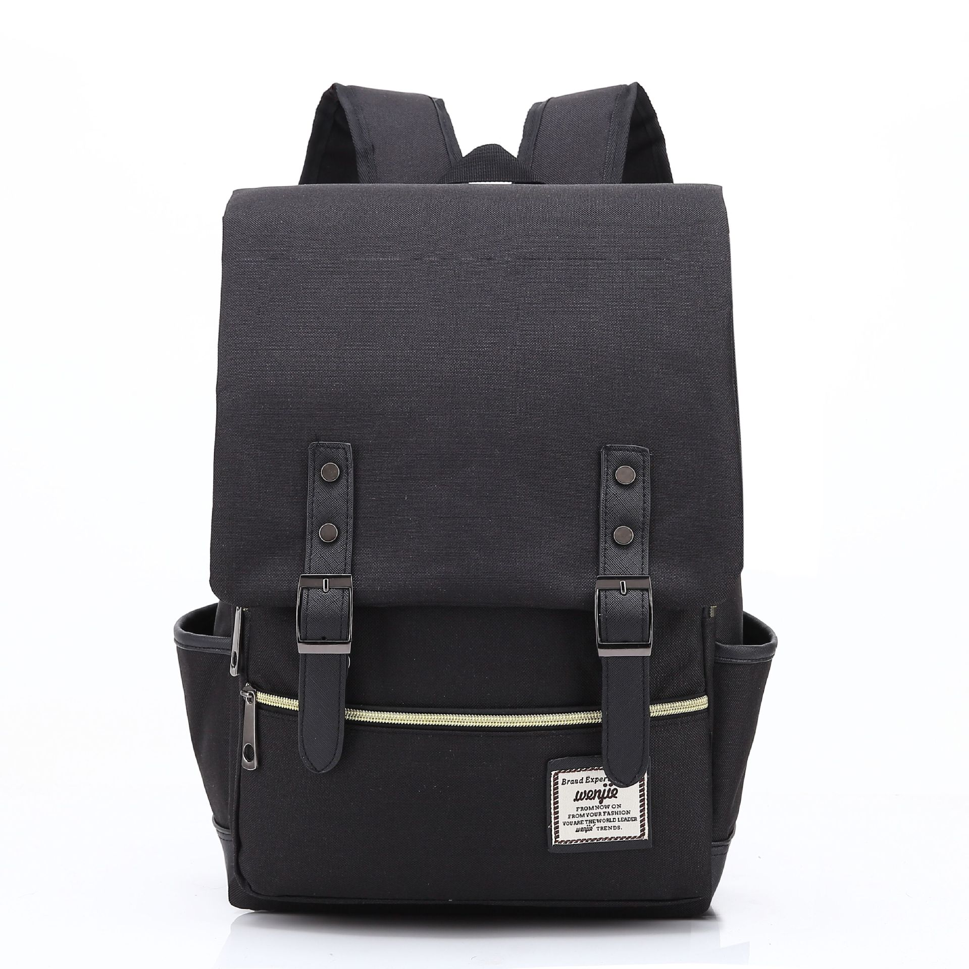 New Fashion Men Women Backpacks High Quality Canvas Unisex Student School Bag Female Male Computer Bag High Capacity Travel Bag