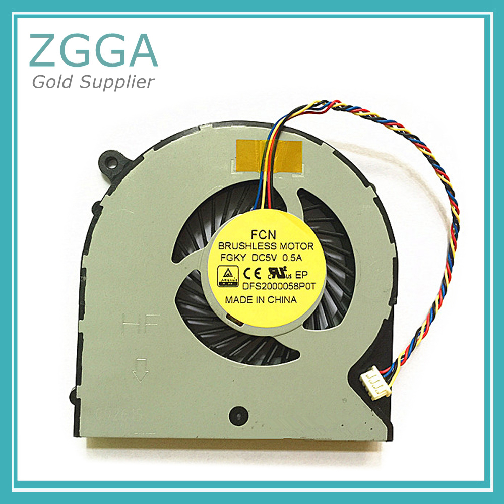 Original New Notebook CPU Cooling Fan For Gigabyte P35 P35X P35W P35XV4 P37 Laptop Cpu Cooler Fan DFS2000058P0T