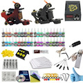 ITATOO Pens Tattoo Kit Cheap Tattoo Machine Set Kit Tattooing Ink Machine Gun Supplies For Jewelry Weapon Professional PX110016