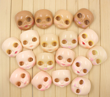 Factory Neo Blythe Doll Faceplate RBL Mold Makeup Applied Free Gifts