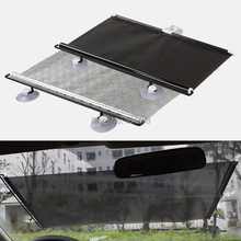 Universal Car Shade Curtain Auto Accessories Retractable Side Window Automatic Sunscreen Roller Blinds Window Film