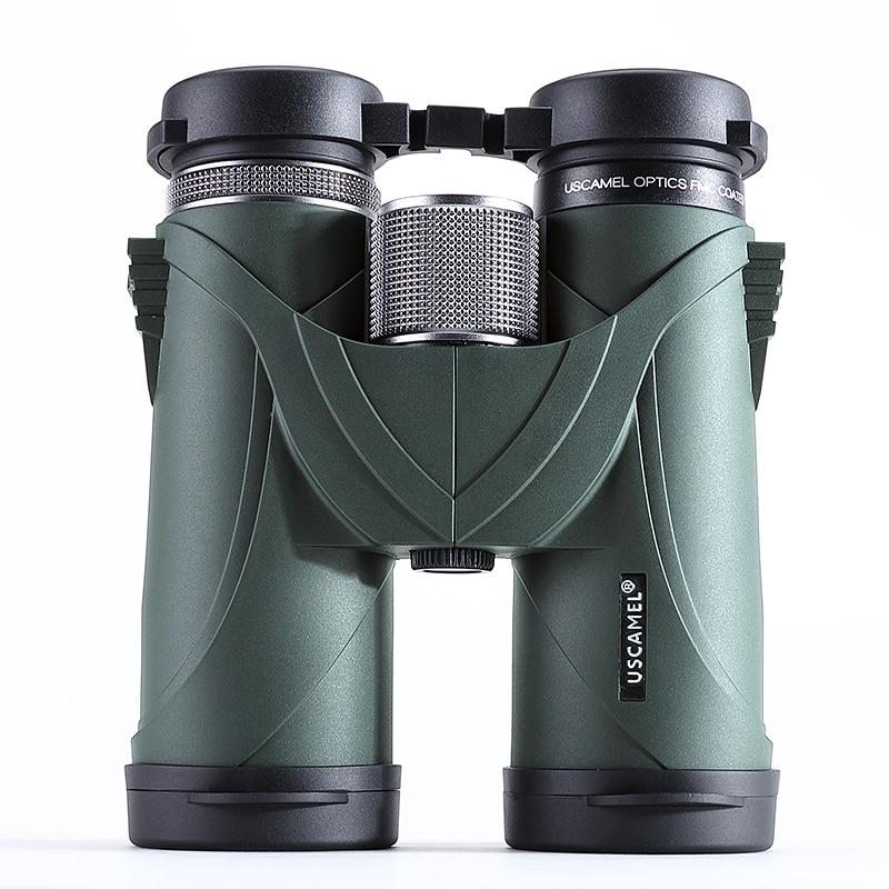 USCAMEL 10x42 Jumelles Professionnel Télescope Militaire HD Haute Puissance Chasse En Plein Air