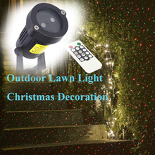 Лужайки садовые дистанционным пейзаж фонари звезда лазерный прожектор освещение plug ес