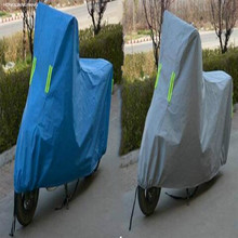 UNIVERSAL scooter cover motorcycle waterproof M L XL XXL XXXL blue gray free shipping