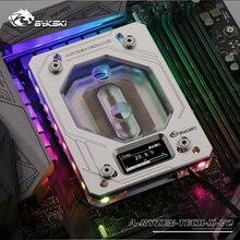 Bykski cpu водный медный блок для AMD RYZEN3000 AM3/AM4/TR4/1950X/X399 X570 материнская плата 5 в A-RGB температурный дисплей OLED
