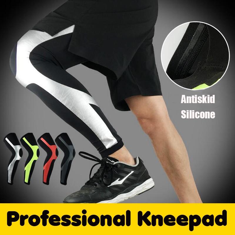 Compression Running Leggings - Football Shinguard Cycling Leg Warmers 5