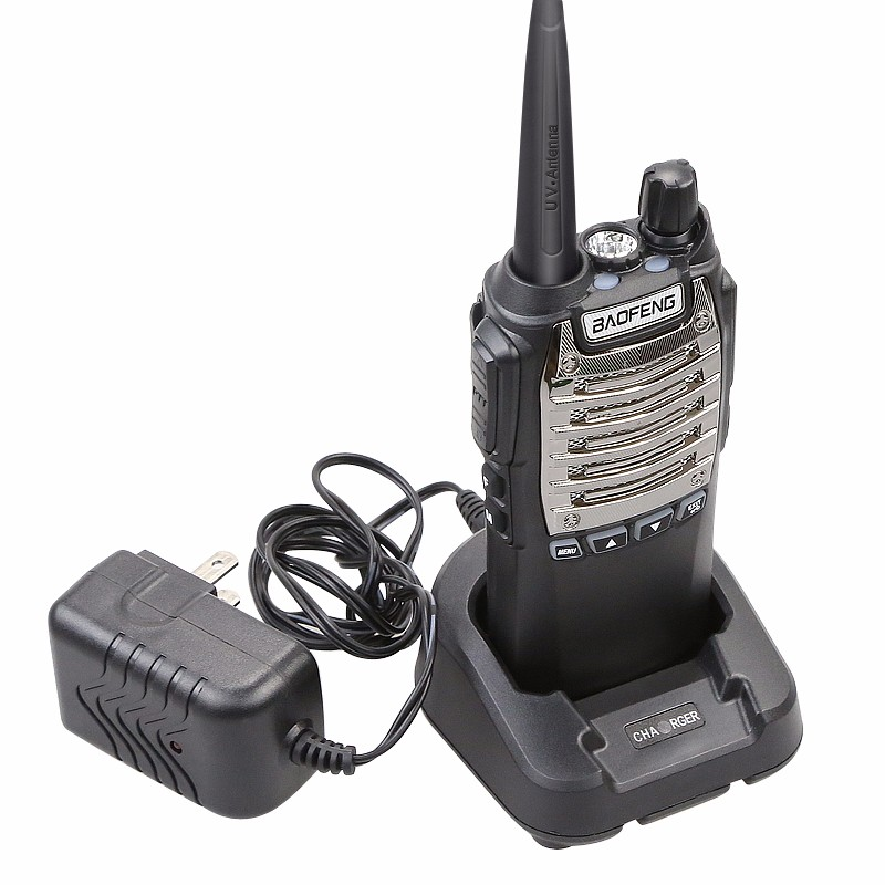 100% Original 8W 128 Channels Hand Free Baofeng UV-8D Walkie Talkie KM UHF 400-480MHz Portable Radio Comunicador UV8D Interphone