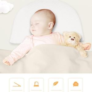 Neugeborenen Baby Schlaf Kissen Anti Baby Spieß Milch Krippe Babybett Schlaf Positionierung Keil Kissen Memory Foam Infant Pflege Kissen