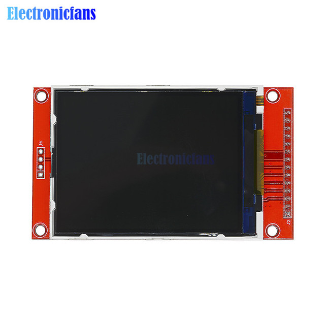 2 8 2 8 Inch Tft Spi 240x320 Lcd Serial Port Module Pcb Adapter