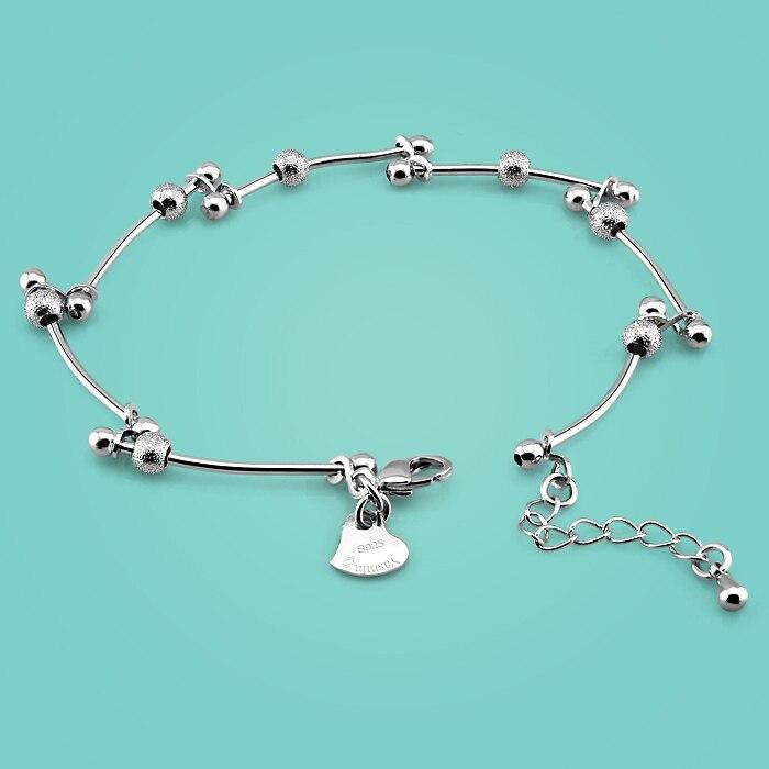 Bracelet en Argent sterling 925 pour femmes, bijoux en Argent massif au design de branche, breloques populaires pour femmes