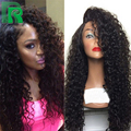 Brazilian Virgin Hair Wig Curly Full Lace Wig With Baby Hair Glueless Full Lace Human Hair Wigs For Black Women Lacefront Wigs