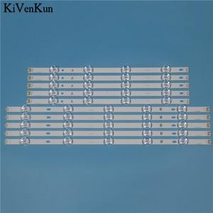 """Image 1 - TV LED Lampada Striscia di Retroilluminazione Per LG 55LB652T LG 55LB652T TB INNOTEK YPNL DRT 3.0 55 """"Bar HD Lens Kit LED 10 bande"""