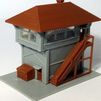 1:160 Scale signal tower model for Train railway model scene high quality