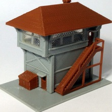 1:160 Scale signal tower model for Train railway scene high quality