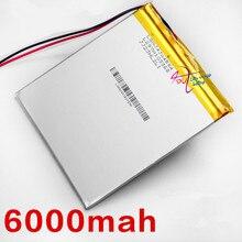 Oriinal battery V972 P85 6000mah 3 7V polymer batteries Tablet PC Battery 4593105