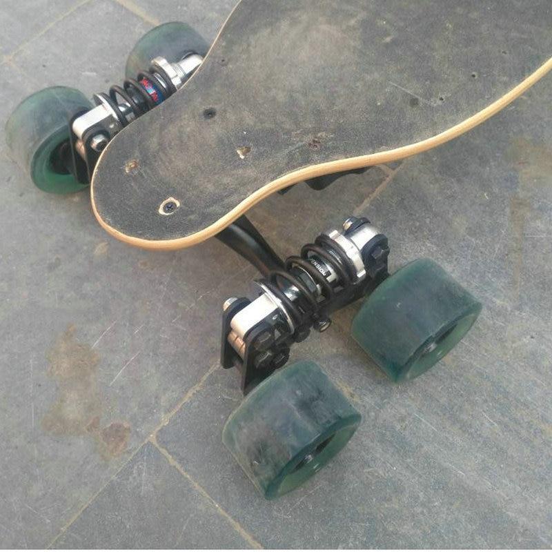 Электрический скейтборд грузовик алюминиевый мост Новые четыре колеса скейтборд длинный Скейтборд Доска грузовик для Flate пластины запчасти