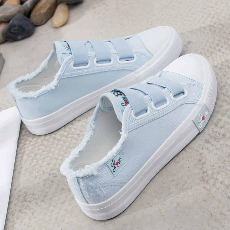 Женская парусиновая обувь; коллекция 2019 года; модная дышащая повседневная парусиновая женская обувь; tenis feminino; женская обувь на шнуровке; кроссовки