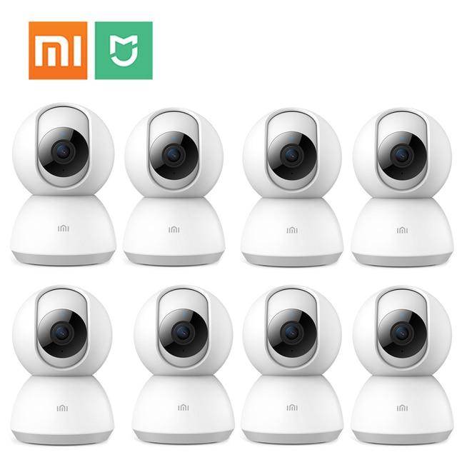 8 cái Nhà Không Dây IP An Ninh mi Camera 1080 P 2MP H.265 Hai Chiều mi ni Tiểu Mi Mi gia Camera mi Nhà Nhìn Xuyên Đêm Camara