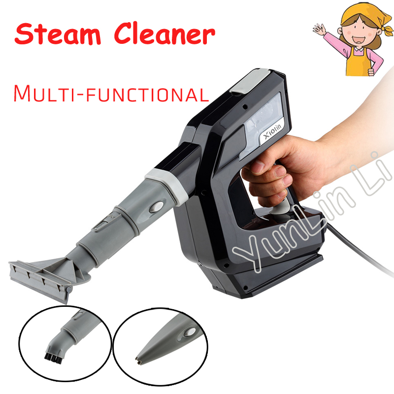 Multifunctional Steam Cleaner High-temperature Cleaning Machine Handheld Sterilization Strong Household Steamer Powerful 7348CH 1pc 220v household handheld multifunctional high temperature sterilization removal steam cleaning machine powerful steam engine
