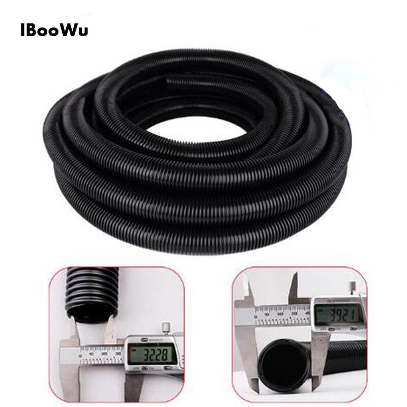 Hot Sales 2M-10M Inner Diameter 32 Mm Flexible EVA Hose Pipes Elongated For Household Vacuum Cleaners Car