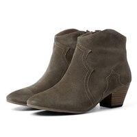 Новый высокое качество корова кожаные туфли, Дамская прогулочная обувь Для женщин кожа и обувь в Весна и осень сезон