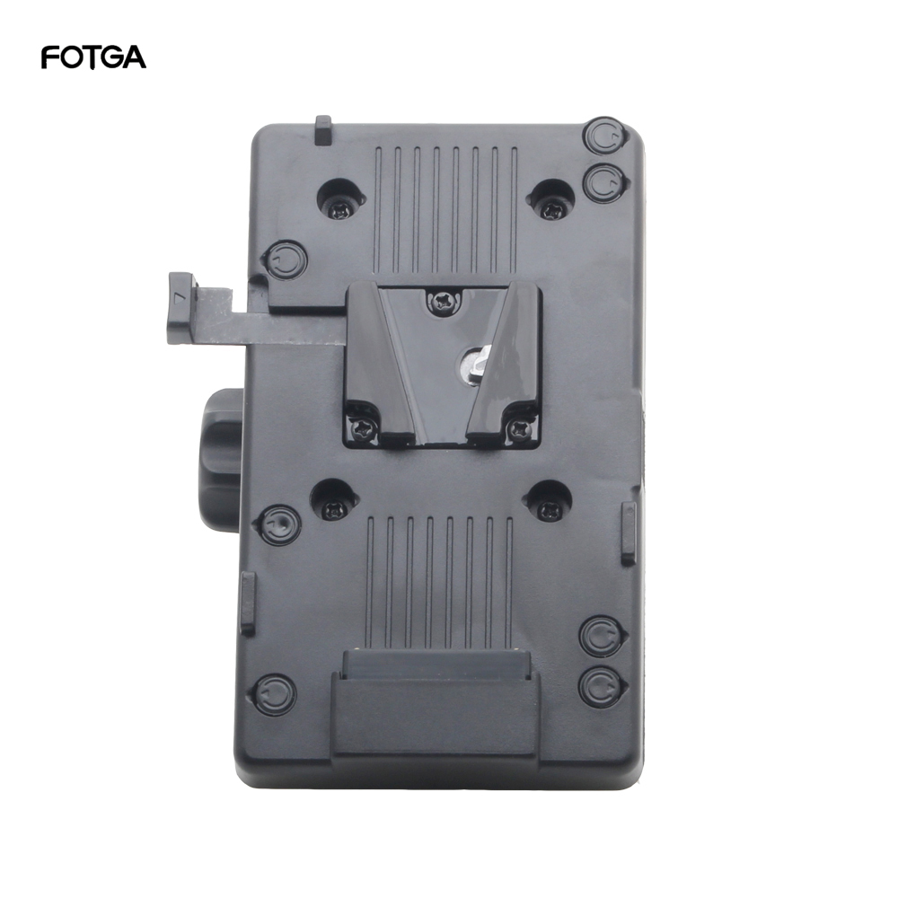 FOTGA BP Battery Back Pack Adapter V-lock Mount Plate For Sony D-Tap DSLR Rig External