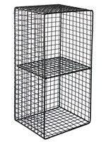 Wall shelf kitchen rack Nordic i wrought iron free punching multi function double bathroom wall hanging storage basket