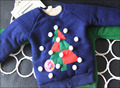 boys and girls Christmas thick winter outerwear shirt  red/blue/ green pullover with Velvet inside for kids and children