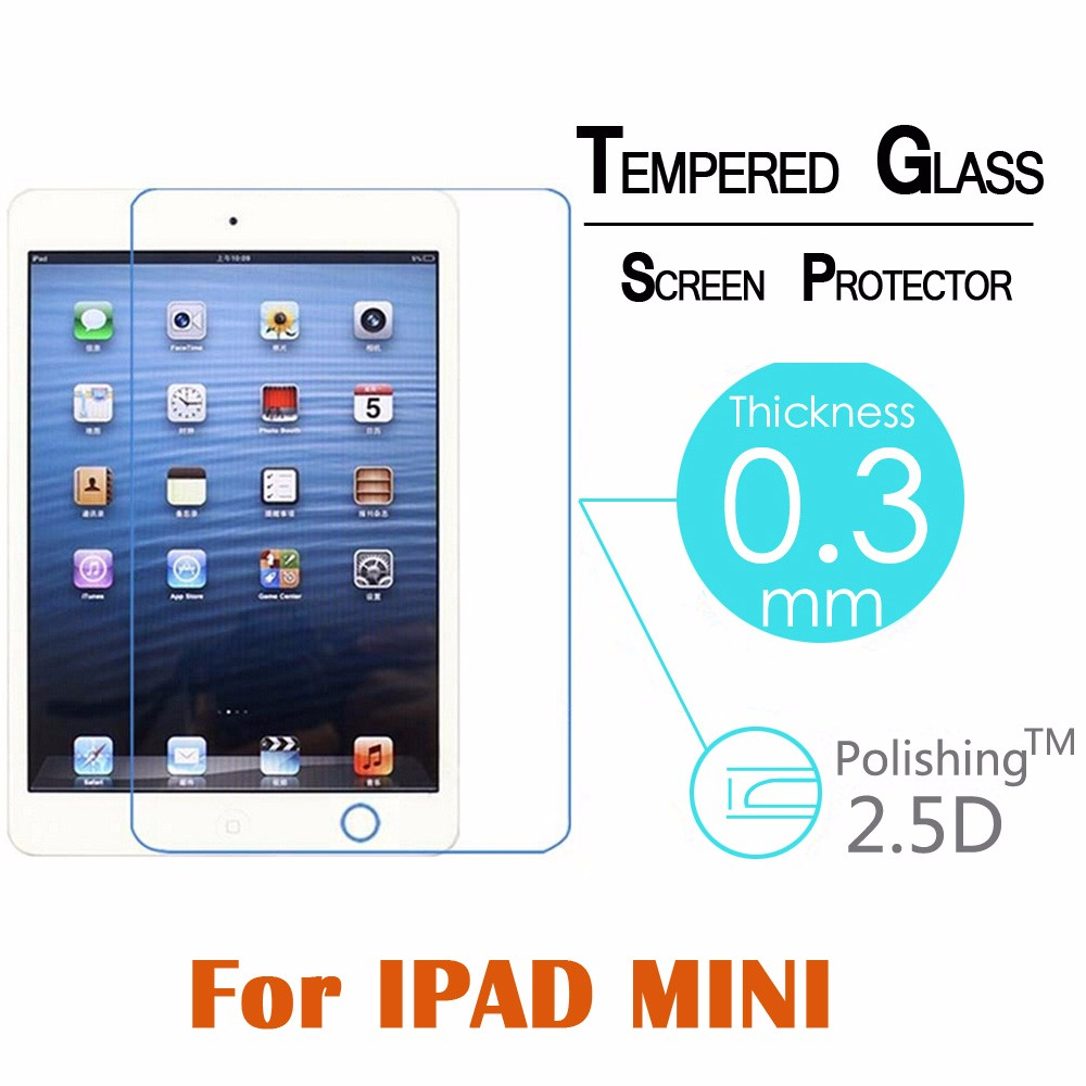 Tempered Glass 9h Arc 03mm 25d For Apple Ipad Mini 1 2 3 Tablet Pc Images La4550 Audio Amplifier Circuit Product Information