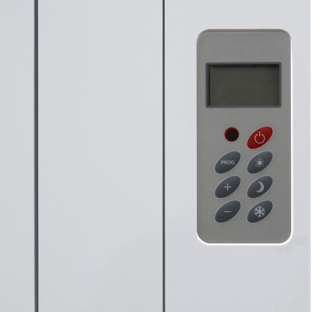 Electric Panel Heater Radiator with Multi-function Remote Control Wall Mounted or Freestanding
