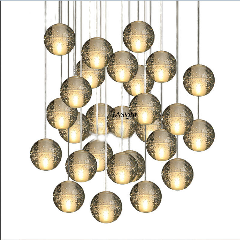Meteor shower crystal chandeliers lighting crystal ball chandelier meteor shower crystal chandeliers lighting crystal ball chandelier 14 lights free shipping in chandeliers from lights lighting on aliexpress aloadofball Images
