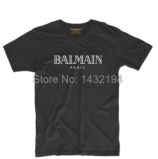 BALLIN PARIS Mens & Womens Fashion Cool Short Sleeve Cotton Printing T Shirt