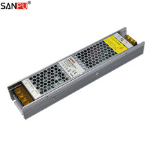 SANPU Dimmable alimentation 60 W 12 V 5A 2in1 Triac 0-10 V variateur pour LED 220 V 240 V AC à DC 12 volts transformateur d'éclairage 12VDC(China)