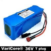 36 В в 10Ah (10S3P) аккумуляторные батареи, сменные велосипеды, электрическая Автомобильная батарея, В 42 В литиевая батарея + 42V2A зарядное устройст