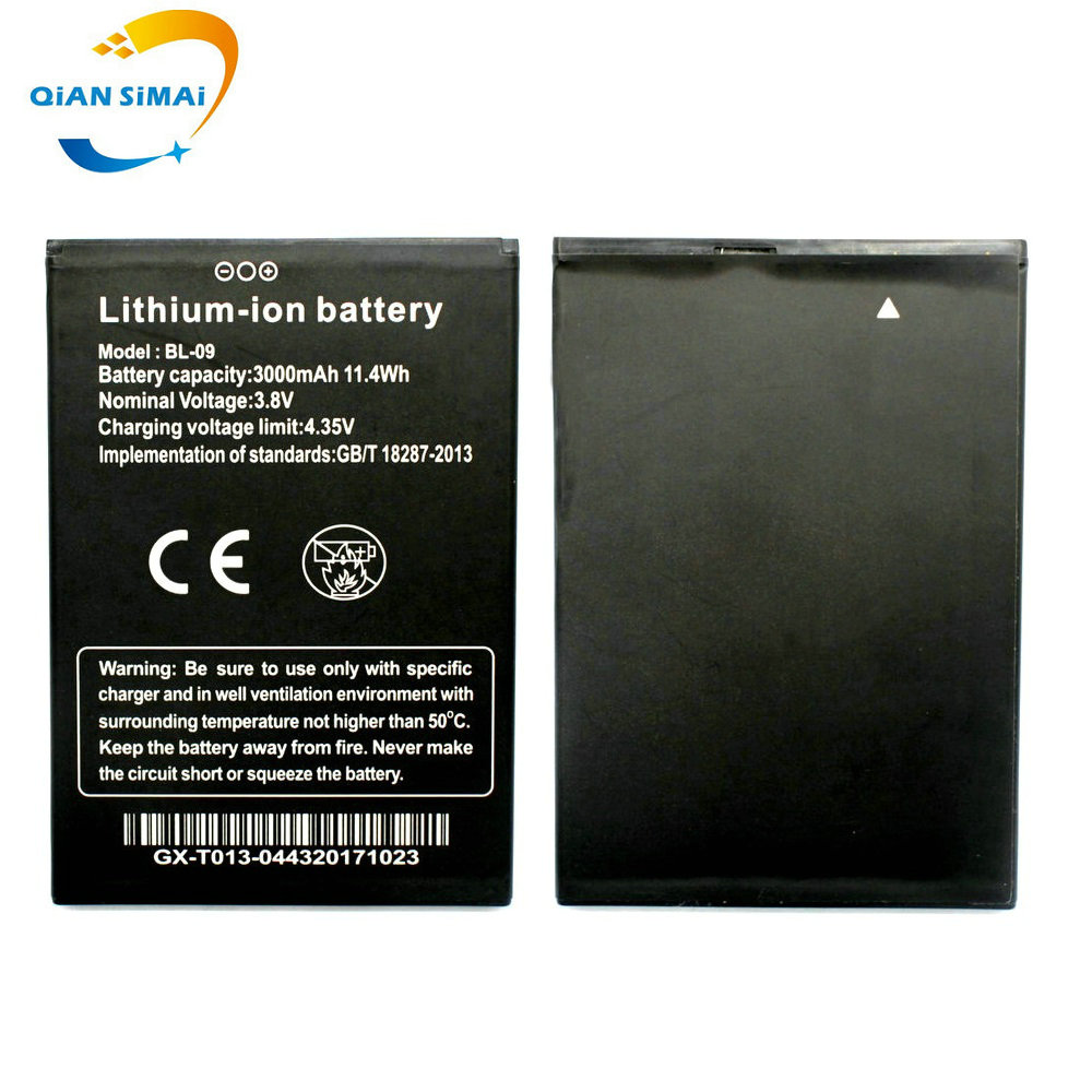 New 100% High Quality <font><b>BL</b></font>-09 Li-ion <font><b>battery</b></font> Batterij Bateria for THL <font><b>T9</b></font> Pro Mobile Phone +Track Code image