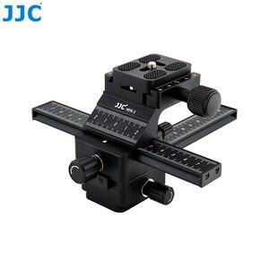 Image 4 - JJC Makro Odaklama Raylı Rrecise Konumlandırma bir Kamera X Ve Y Yönlü Eksen Özellikleri Arca Swiss Hızlı Bırakma plaka