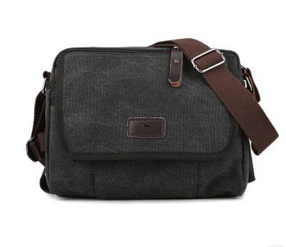 New Arrival Male 100% cotton classic canvas bag, man fashion shoulder bag small messenger bag, casual use high quality BAOK-c5ac  new arrival male 100% cotton classic canvas bag man fashion shoulder bag small messenger bag casual use high quality baok c5ac