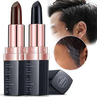 JOYCODES Fast One-off Hair Color Pen Long-Lasting Natural Black/ Brown Color Pen DIY Styling Not Greasy Cover White Hair Stick