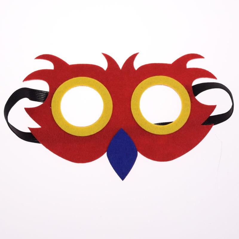 Máscara Coruja Super Herói Bonito Hulk Avengers Thor Máscara Crianças Da Menina do Menino Traje Star Wars Xmas DIY Máscara Masquerade Eye cosplay