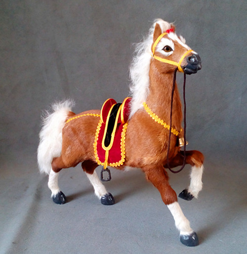 simulation cute horse 32x32cm model polyethylene&furs horse model home decoration props ,model gift d425 кашпо gift n home сирень
