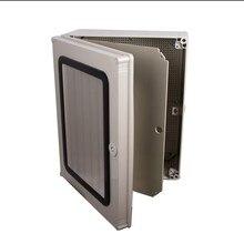 Hot Sale Waterproof Junction box with Door 600*500*195mm ABS Transparent Cover Waterproof Box SP-ATM605019