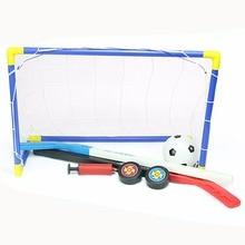 Soccer | Ice Hockey Goals with Balls