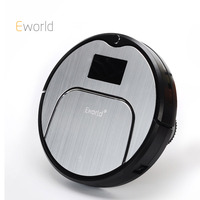 Eworld M883 ABS And Aluminium Alloy Robot Vacuum Cleaner For Dry Wet Cleaning 4 Colors Wireless