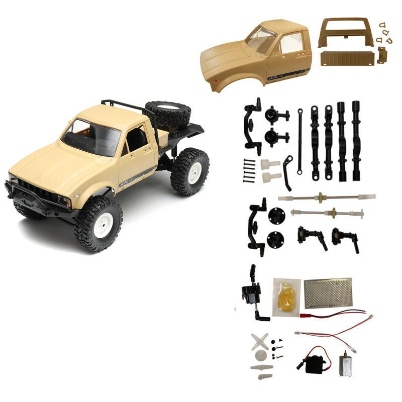WPL C14 2.4G 1/16 Four Drive Climber RC Car KIT with Servo MotorWPL C14 2.4G 1/16 Four Drive Climber RC Car KIT with Servo Motor