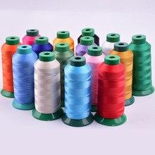 Fil à coudre en Polyester 210D de haute qualité, pour machine à coudre, cuir, 330g, pour machine de broderie, Z4738