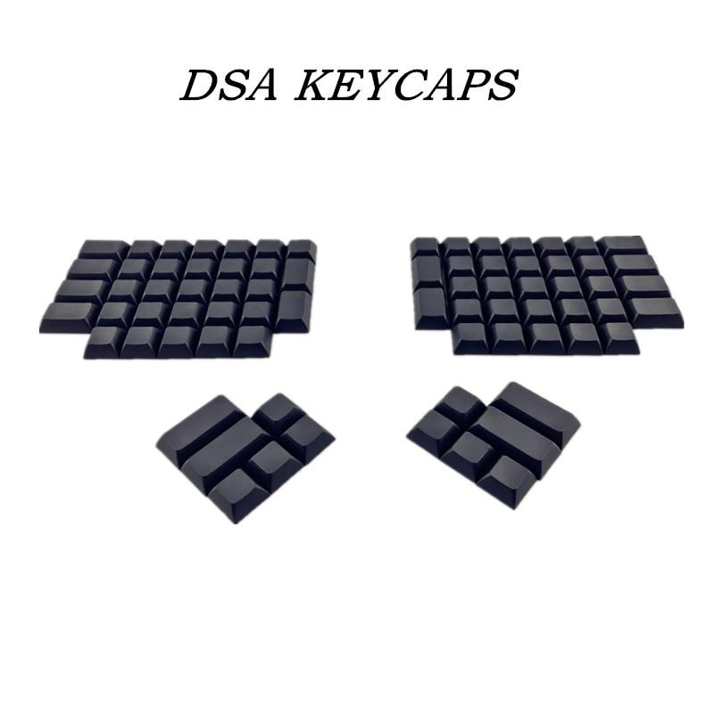 DIY Color Mixing Ergodox Keycap Dsa Pbt Blank Keycaps For Ergodox Mechanical Gaming Keyboard Dsa Profile