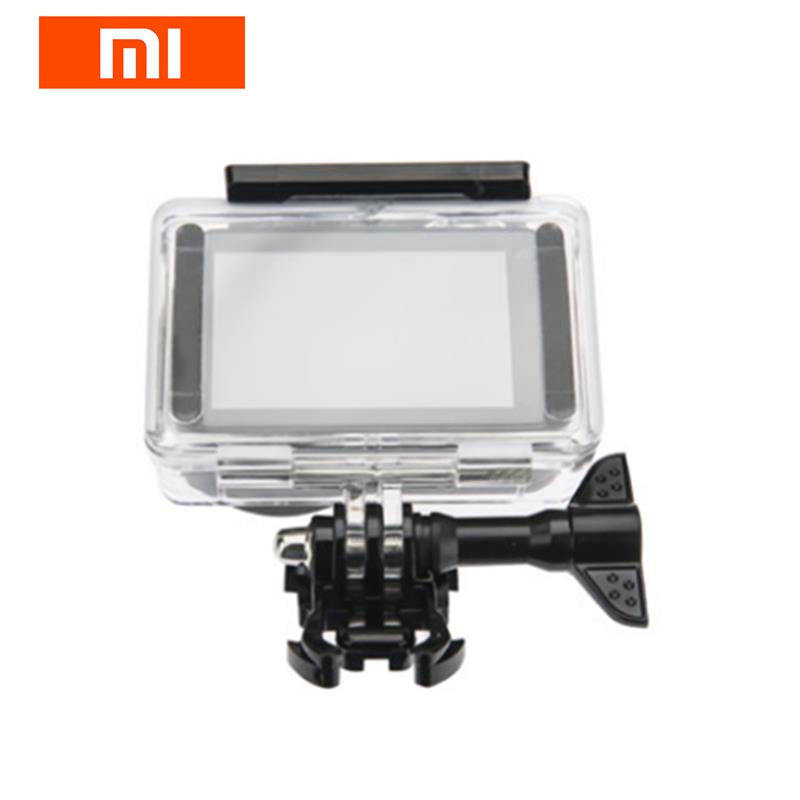 Protective Waterproof Case Mount Diving Shell Cover Housing Protector for Xiaomi Mijia Mini Sports Action Sports Camera Parts 40m 130ft waterproof underwater camera housing diving case cover for sony dsc rx100 iv rx100 m4 rx100 mark4 dhl free shipping