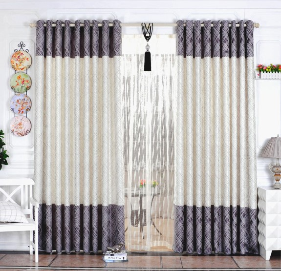 Free Shipping Home Textile Curtain Design Jacquard Curtain Minimalist  Modern Style Living Room Bedroom Curtains For Window Part 33