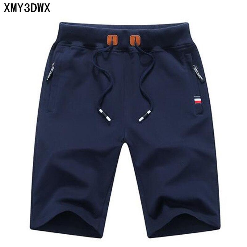 2017 ropa de moda de los hombres producto verano playa Shorts Bermuda Masculina ocio 4xl Moletom Masculino cortocircuitos de la playa del algodón